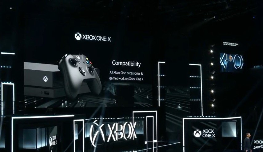Xbox One X officially unveiled by Microsoft at E3 2017
