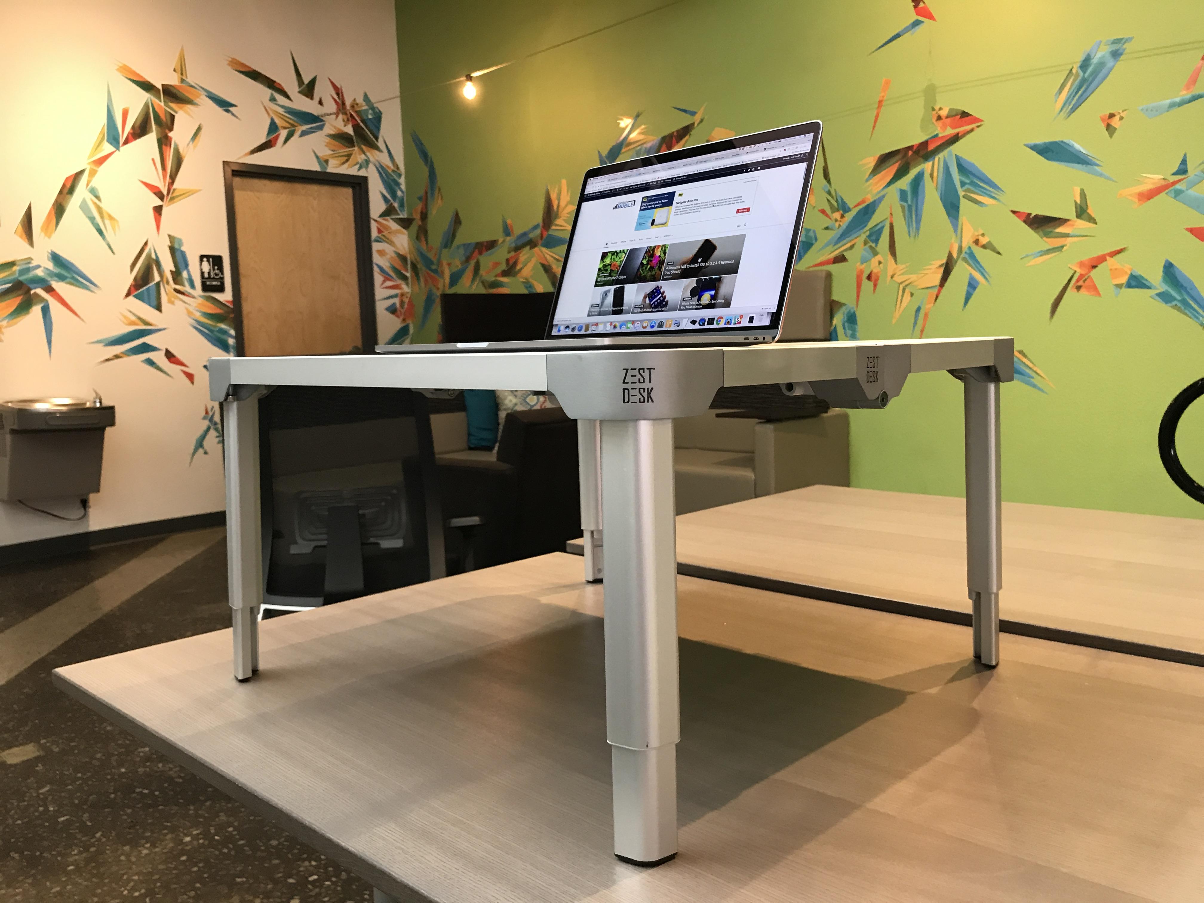 ZestDesk Review Portable Standing Desk