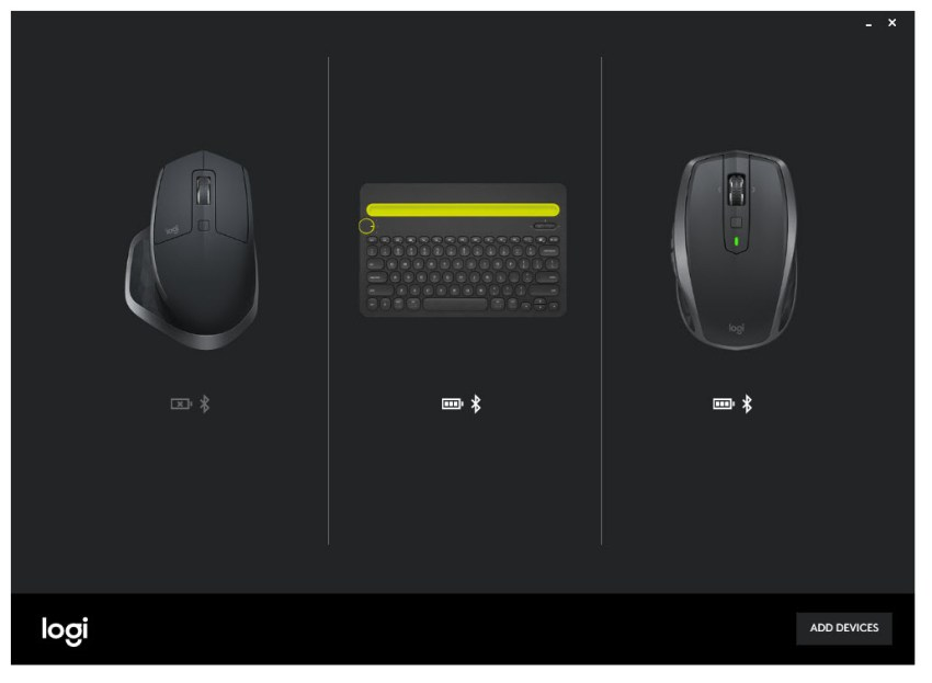 logitech options software