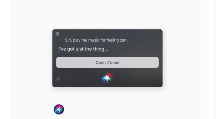 New macOS High Sierra Siri Features