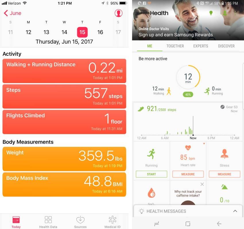 samsung-health-and-apple-health