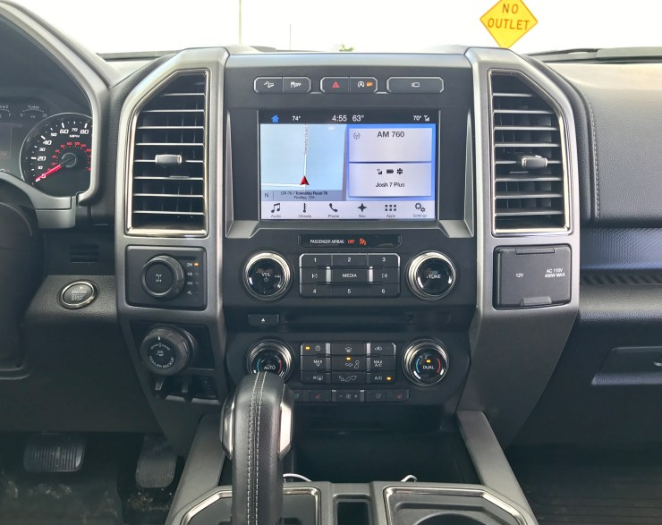 Sync 3 with support for Apple CarPlay and Android Auto is a must have on the Raptor.