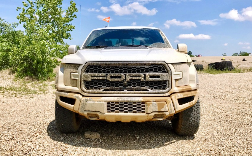 The 2017 Ford Raptor features bold looks that add to the capabilities.