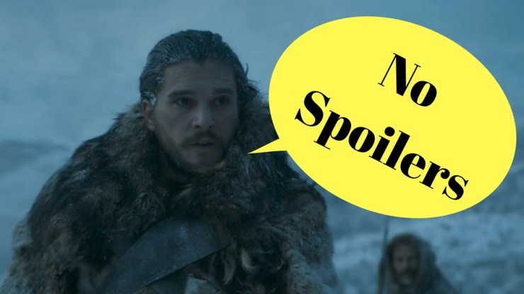 Stop Game of Thrones spoilers before you see anything.