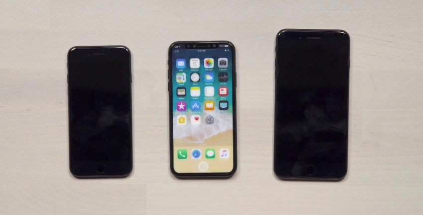 The iPhone 7s vs iPhone 8 vs iPhone 7s Plus via UnboxTherapy.
