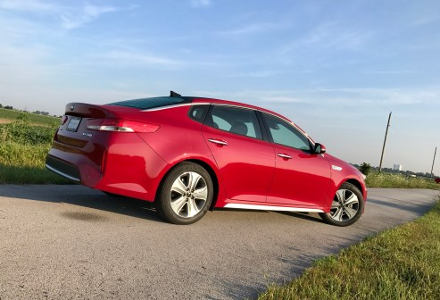 2017 Kia Optima Hybrid Review - 16