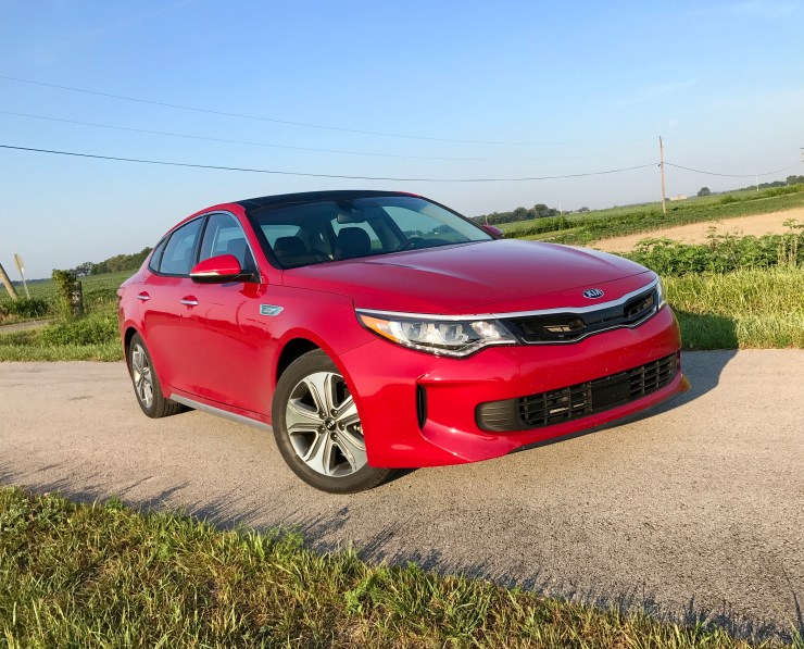 We prefer a bolder look, but the Optima's design is still modern and pleasing.