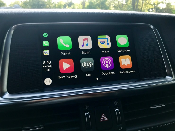 You'll find an easy to use system that includes support for Android Auto and Apple CarPlay.