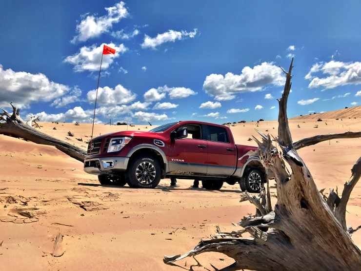 The 2017 Nissan Titan Pro 4X is incredibly capable.