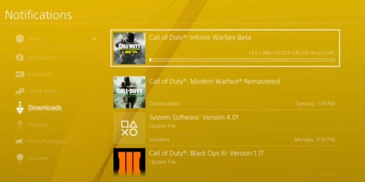 Trick to speed up Call of Duty: WWII downloads.