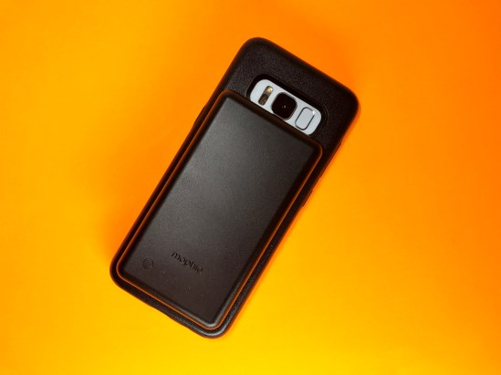 Mophie Charge Force Review Galaxy S8 - 7