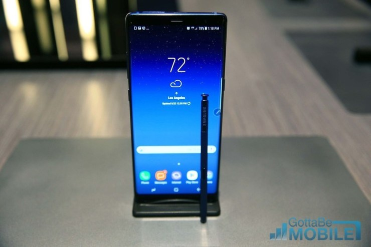 How To Change The Galaxy Note 8 Lockscreen Wallpaper