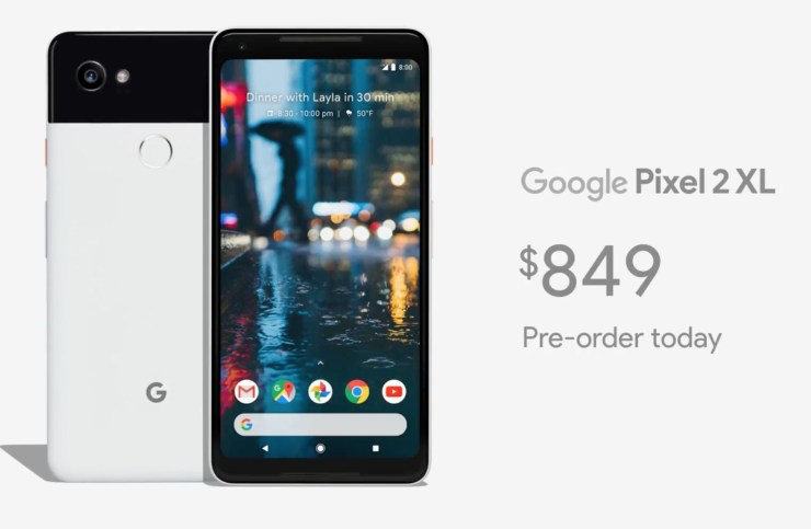 Galaxy Note 8 vs Pixel XL 2: Release Date & Price