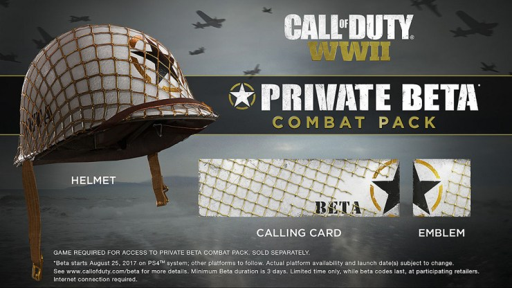 Get FreeCall of Duty: WWII Gear