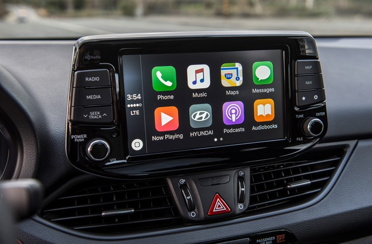 You'll find Apple CarPlay & Android Auto standard.