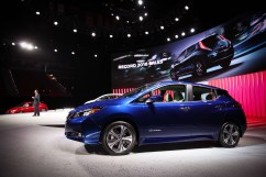 All-new 2018 Nissan LEAF revealed in Las Vegas
