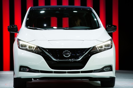 All-new 2018 Nissan LEAF revealed in Las Vegas