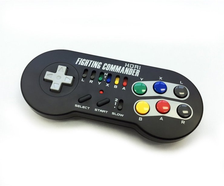HORI SNES Classic Fighting Commander Controller