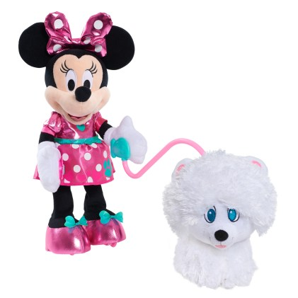 Hottest Toys 2017 - JustPlay_Minnie Dog Walking Feature Plush- Out of Package