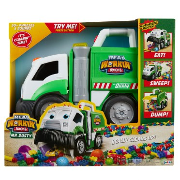 Hottest Toys 2017 - jakks-pacific-563478292-dusty-garbage-truck-1