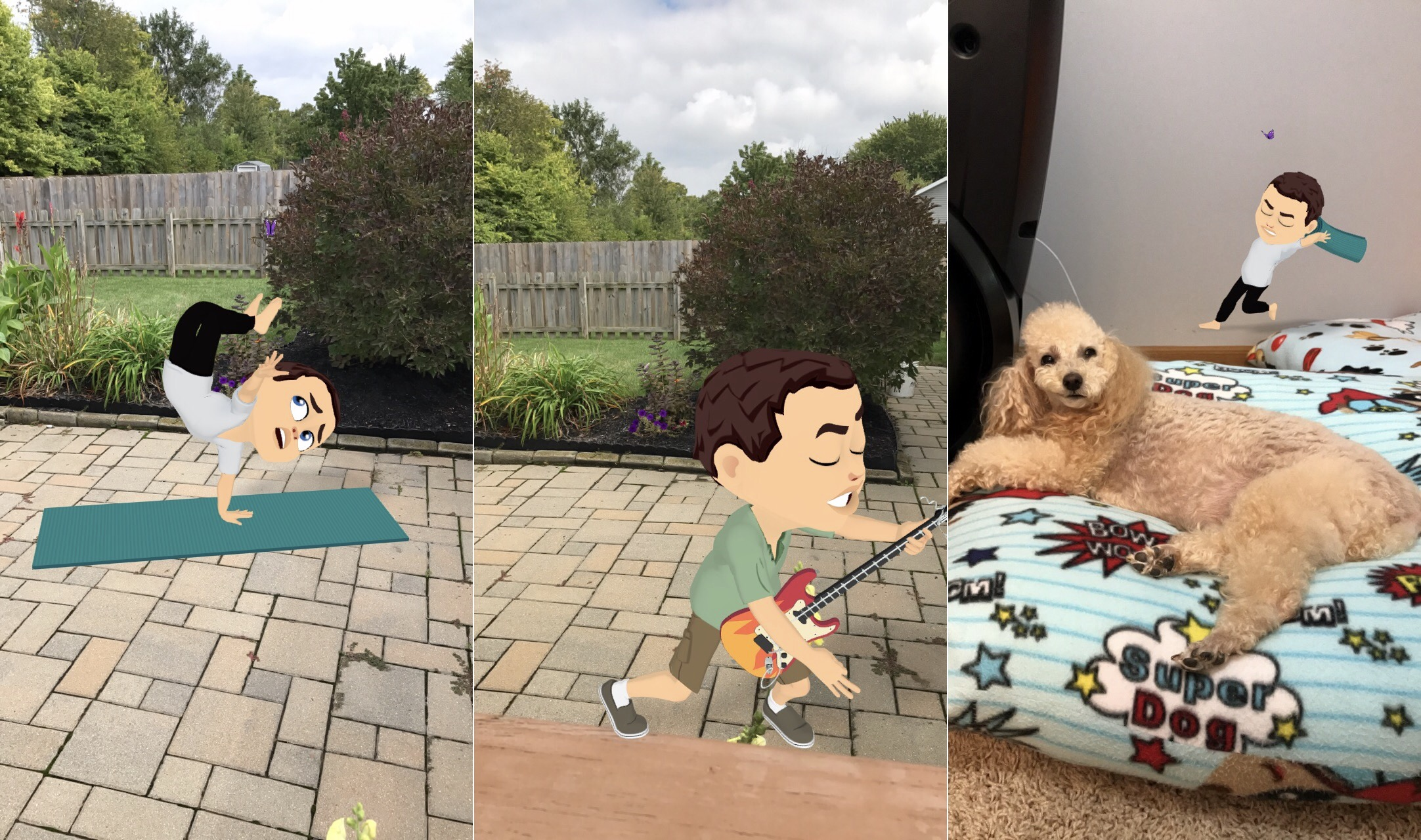 Animoji, what? Snapchat debuts World Lenses for Bitmoji