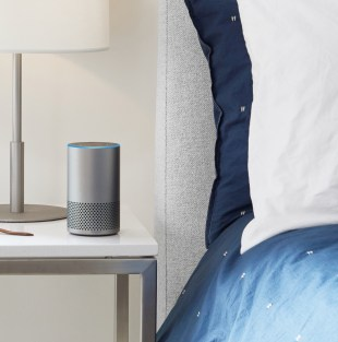 You can put the Echo in any room in your house.