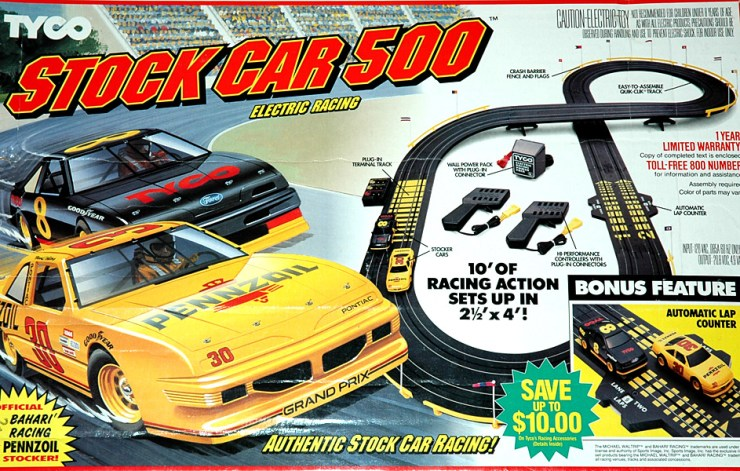 TYCO Racing Cars: Anki OVERDRIVE 30 years ago