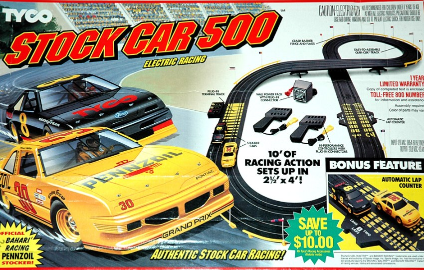 TYCO Racing Cars: Anki OVERDRIVE 30 years ago