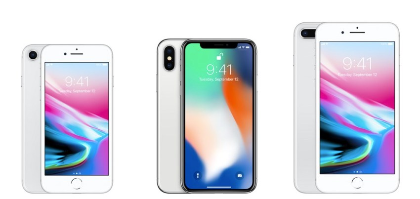 The screen is a major differentiator on the iPhone 8 and iPhone X.