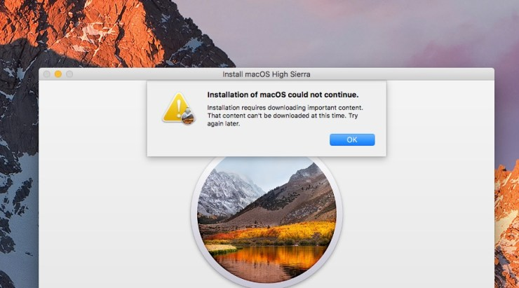 There are limited macOS High Sierra install problems.