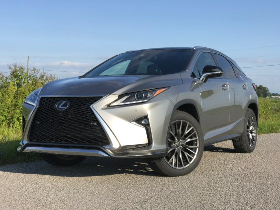 2017 Lexus Rx 350 F Sport Review