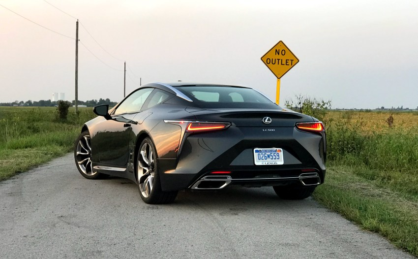 The Lexus LC 500 is a exciting to drive.