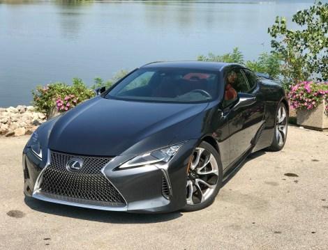 2018 Lexus LC 500 Review - 21