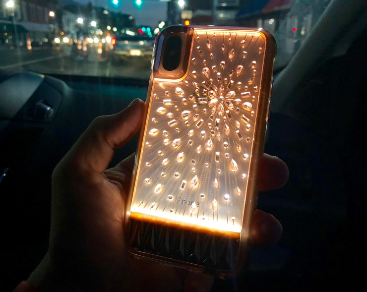 Light Up iPhone X Case from Case Mate