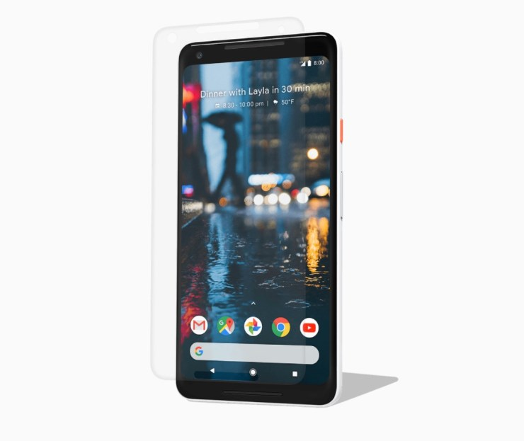 Google Power Support Tempered Glass