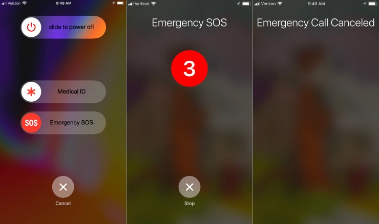 How to use Emergency SOS on iPhone to call 911 without unlocking your phone.