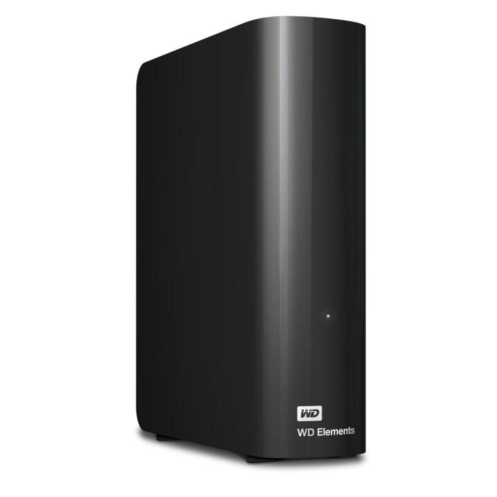 WD Elements 4 TB USB 3.0 Desktop Drive - $107.99