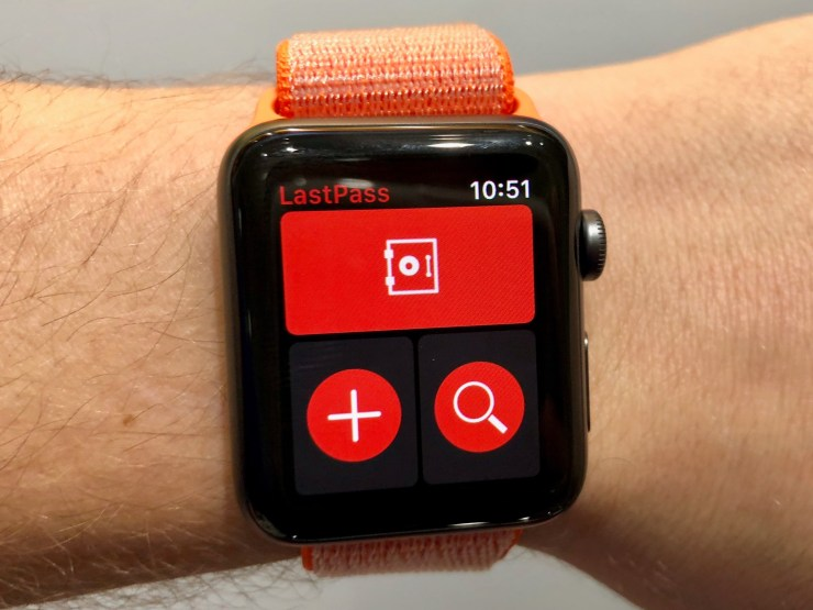 Keep Your Passwords On Your Wrist