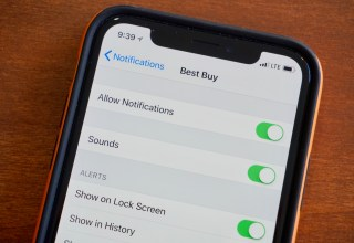 How to customize iPhone notifications.