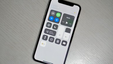 How to use the Control Center on the iPhone X.