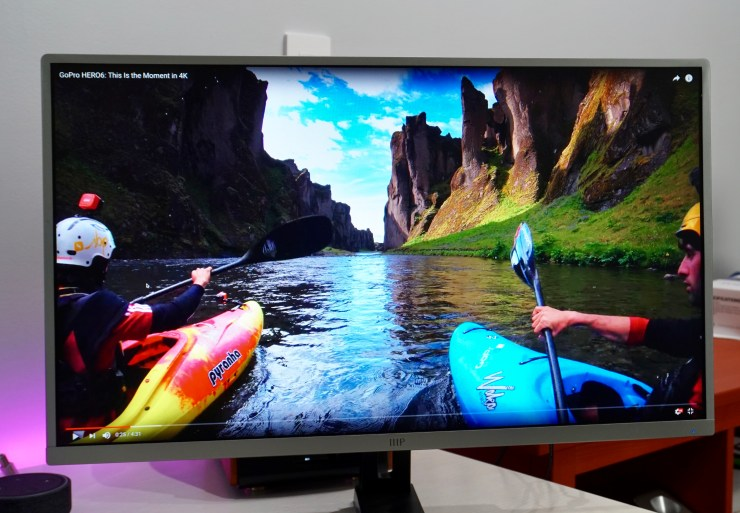 The Monoprice WQHD 2560x1440 AH-VA monitor delivers a great screen and lots of value.