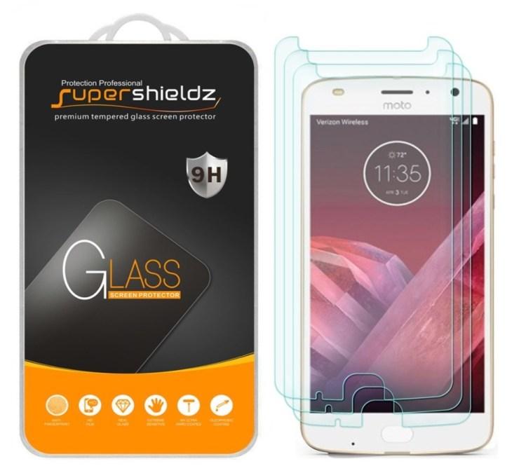 SuperShieldz Tempered Glass 3-Pack