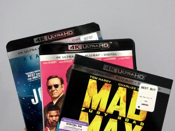 Play 4K Blu-Ray Movies