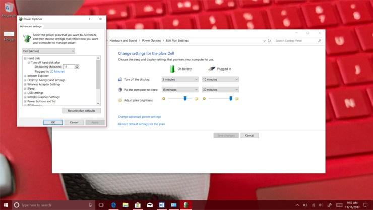 Adaptive Screen Brightness in Windows 10