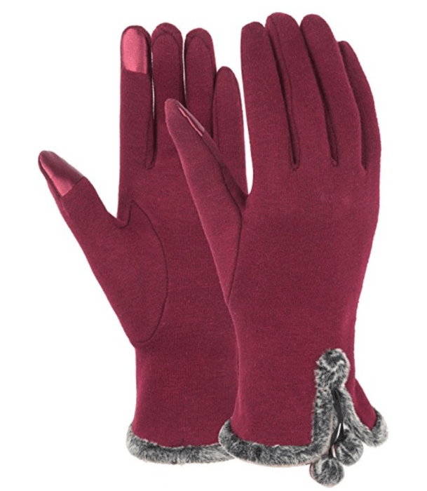 Dimore Women Fashion Touchscreen Gloves