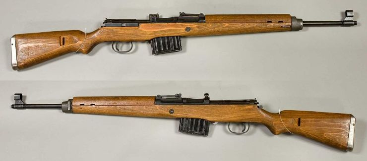 Example of one of the potential new Call of Duty: WWII guns. Armémuseum (The Swedish Army Museum) through the Digital Museum (https://www.digitaltmuseum.se)