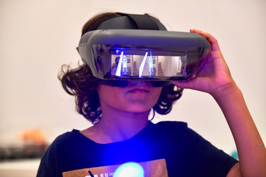 Star Wars Jedi Challenges Augmented Reality headset
