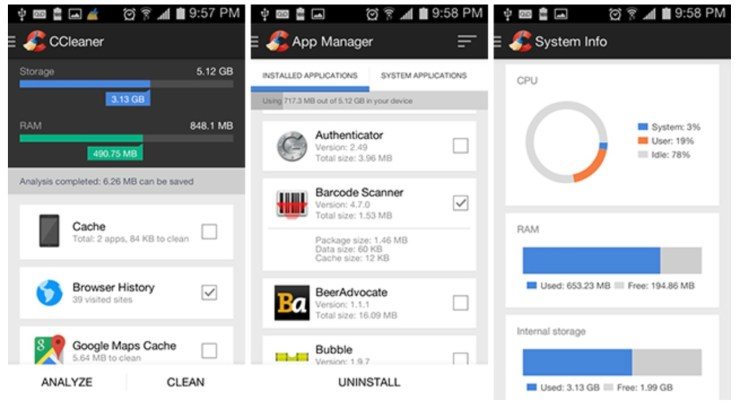 c cleaner for android