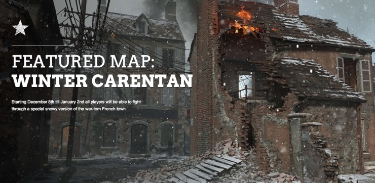 Play Carentan free during the Winter Siege.