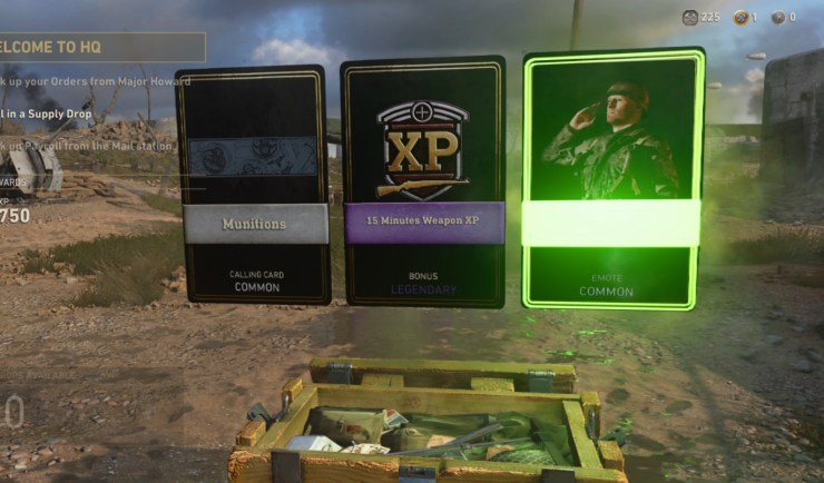 How you can get some free Call of Duty: WWII supply drops.